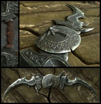 Illidan Stormrage Twin Blades by Nikola3D
