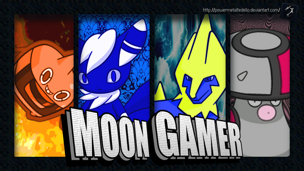 request - design for MoonGamer's YT channel by PowerMetalFedello