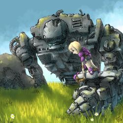 Girl in Field of Machines part 2 by ryuzo