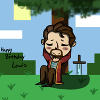 .:Happy Birthday Lewis:. by howlowl