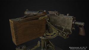 Browning M1917 by Kn3chtRuprecht