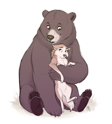 [CM] Bear hug by Mistrel-Fox