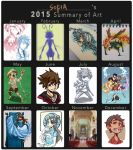 Sofie's Summary of Art 2015 by Infinite-Stardust