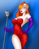 Jessica Rabbit by DarthGuyford