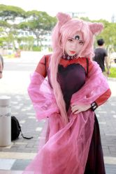 Sailor Moon - Sailor Chibi Moon Black Lady by Xeno-Photography