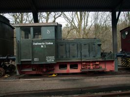 STOCK Old Locomotive 02 by Inilein