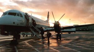 Plane from manchester by reed-richards