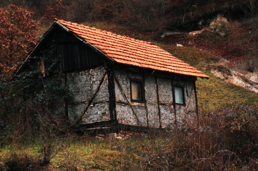 Old House from Bosnia by masinovic