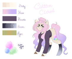 [OC] Cotton Cloud by SugaryNoodle
