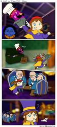 A Hat in Time: DLC, Ship Shape, Mess by Natalya-Chan