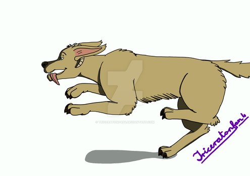 'Alien' dog... thing by Triceratonfan4