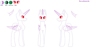 MLP Base for Ref Sheets by ChocolateGemChannel
