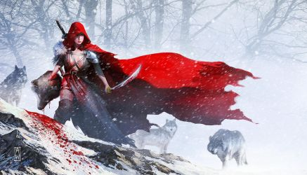 Red Riding Hood by AdmiraWijaya