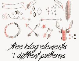 Free Png Blog Elements by toxiclolley88