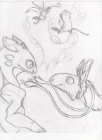 Eclypse/Toothless by Dragimal