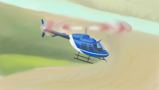 Enjoyable fligth in Bell-206L4 by scadl