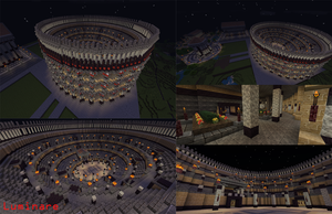 Minecraft- Digital Forge Online Colosseum by X-Luminare-X