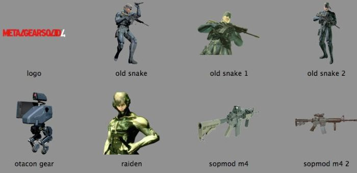 Metal Gear Solid 4 by markdelete