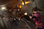 Claire vs Giant Spiders by DemonLeon3D