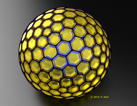 Buckyball2 by fractalyst