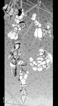 CM: Dangling ladies by nidoriko