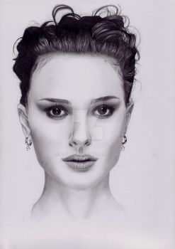 Drawing of Natalie Portman by FaithzX