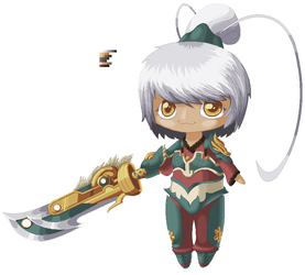 Dragonblade Riven by SquishyFudge