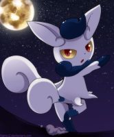 Meowstic by KairouZ