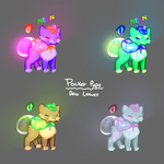 ***POCKET PUPS: DEW LEAVES*** ADOPTABLES ++OPEN++ by cuttlewltch