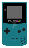 Game Boy-Teal by wanderingent