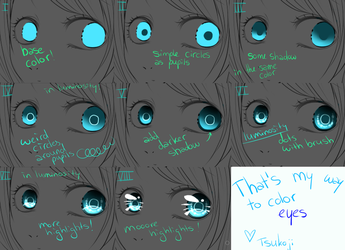 My Way Of Coloring Eyes by Tsukoji