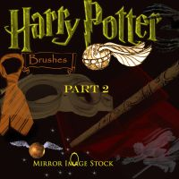 Harry Potter Brushes  Part 2 by mirrorimagestock