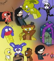 Five Nights At Freddy's The Musical (Night 3) by TheVenturianGirl