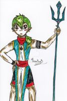 Colored Tribal Boy by Twin-Divinity