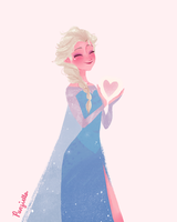 Elsa by muttonfudge