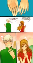 Dramione Comic Strip by fingernailtreez