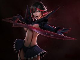 Ryuko v2.0 by JPL-Animation