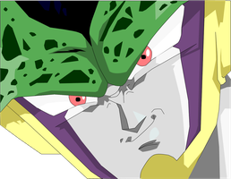 Perfect Cell Smiling by Yholl