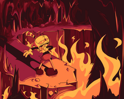 WELCOME TO HELL, BOY! by Munchkin-Flumples