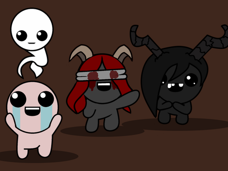 My Favorite TBOI Characters by Nosurej