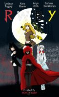 RWBY Movie Poster by MsJorable
