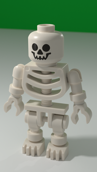 Lego Skeleton Render by SilentIvo