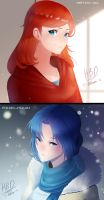 Dual HBD: Fire and Ice. by Billiam-X