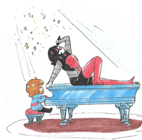Undertale - Oh Yeees by akkame