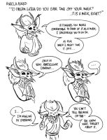 Character QnA: Dream Eater's Mask by RobinRone