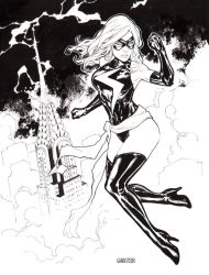 Ms Marvel C2E2 2015 inks by Arciah