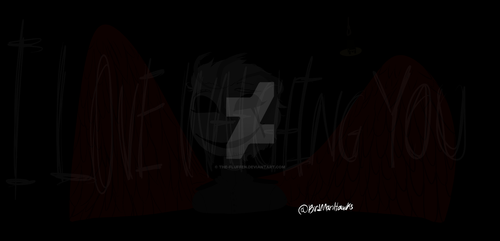 Who Is That Hiding In The Dark by The-Fluffen