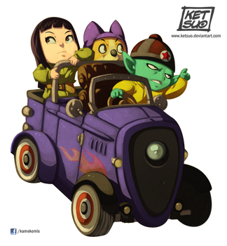 Pilaf and Co. by KetsuoTategami