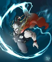 Thor, god of thunder by Mattasama