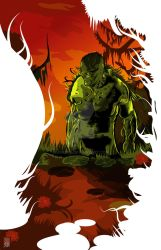 Swamp Thing by jonorr